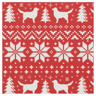 Nova Scotia Duck Tolling Retrievers Christmas Fabric