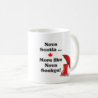 Nova Scotia ... Feels like Nova Soakya Coffee Mug