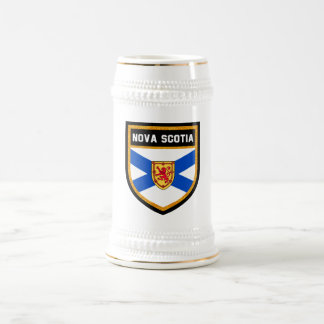 Nova Scotia Flag Beer Stein