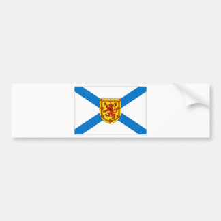 Nova Scotia Flag Bumper Sticker