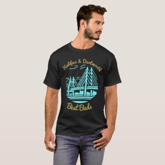 Nova Scotia Halifax Dartmouth Best friends buds T-Shirt