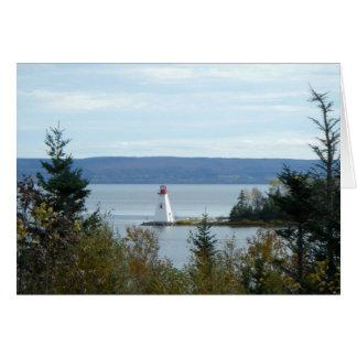 Nova Scotia Lighthouse Card