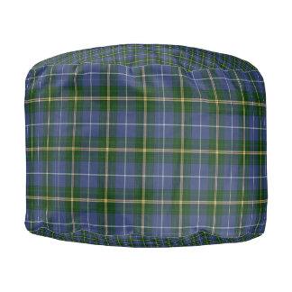 Nova Scotia Tartan cottage pouf seat pilow