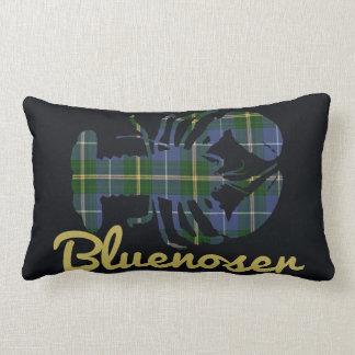 Nova Scotia Tartan Decorator Lobster Bluenoser Lumbar Pillow