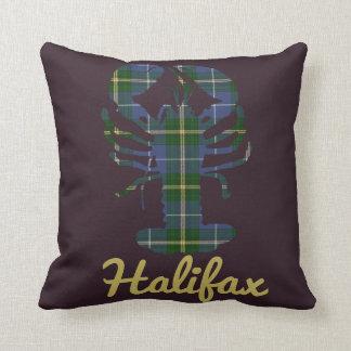 Nova Scotia Tartan Decorator Lobster Halifax Throw Pillow