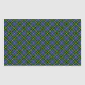 Nova Scotia Tartan Designed Print (Canada) Sticker