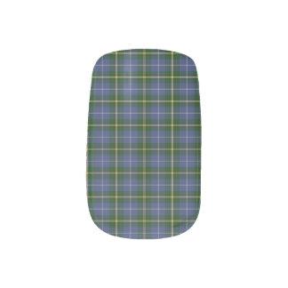 Nova Scotia Tartan Nail Wraps & Toe wraps
