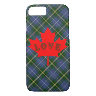 Nova Scotia tartan plaid phone case love Canada