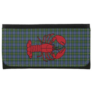 Nova Scotia Tartan Wallet lobster