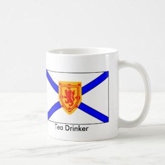 Nova Scotia Tea Drinker Basic White Mug