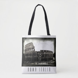 Novel Coliseum - Black and White Bag