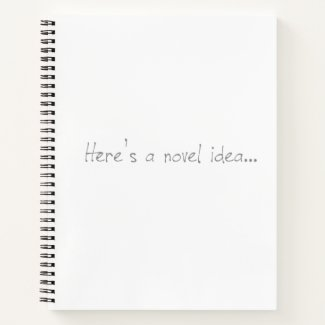 Novel Idea Spiral Bound Notebook