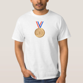 Novelty Bronze Medal - Third Place T-Shirt