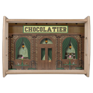 Novelty Chocolate fun serving tray