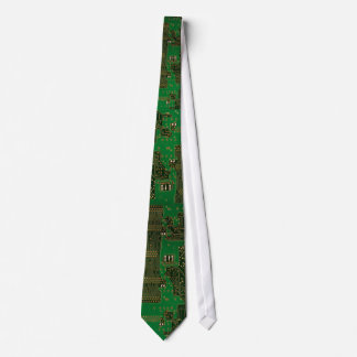 novelty circuit board tie