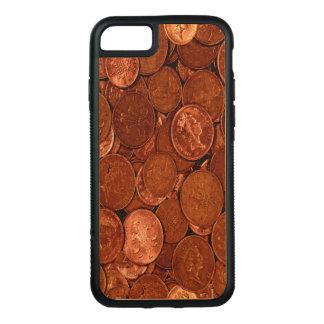 Novelty Copper Coins Carved iPhone 8/7 Case