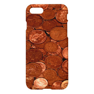 Novelty Copper Coins iPhone 8/7 Case
