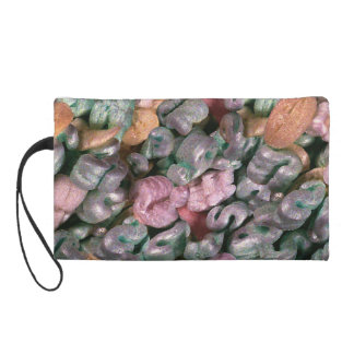 Novelty Design Packing Peanuts Wristlet Purse