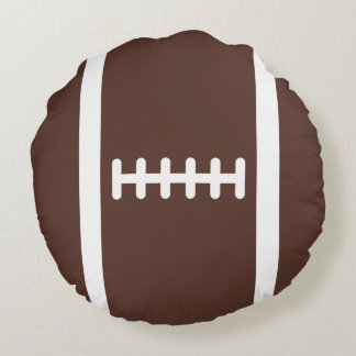 Novelty Football Round Pillow