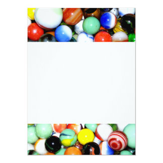 """Novelty Marble Collection 5.5"""" X 7.5"""" Invitation Card"""