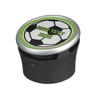 Novelty round soccer ball bluetooth speaker