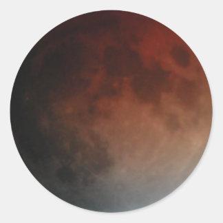 November 2003 eclipse round sticker