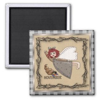 November Angel / Fairy Month Magnet