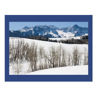 """November in Uncompahgre Valley"" Poetry Postcard"
