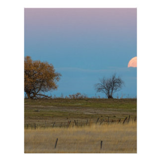 November Supermoon Rising Letterhead