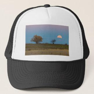 November Supermoon Rising Trucker Hat