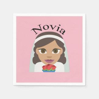 Novia (Bride) Disposable Napkin