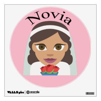 Novia (Bride) Wall Sticker