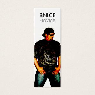 NOVICE ALBUM DEBUT CARD
