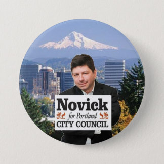 Novick for PDX 3 3 Inch Round Button