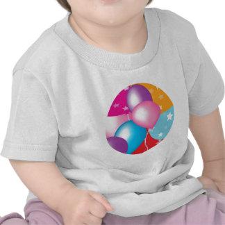 NOVINO Celeberations - Baloons, coeurs des étoiles T-shirt