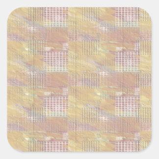 NOVINO Diamond Theif Sample Collection Square Sticker