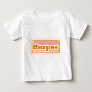 NOVINO Elegant Text Baby T-Shirt