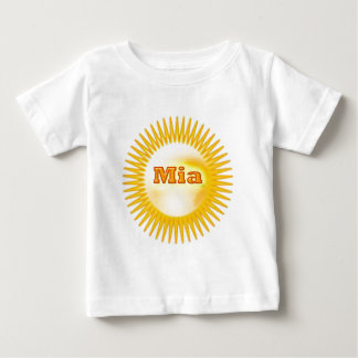 NOVINO Elegant Text T-shirts