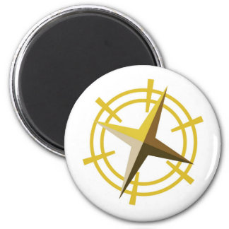 NOVINO Gold Star Drive Wheel Magnet