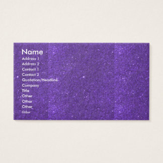 NOVINO Goodluck holy purple Unique Shades Texture Business Card
