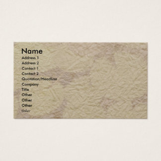 NOVINO - Handmade Paper look 2 Business Card