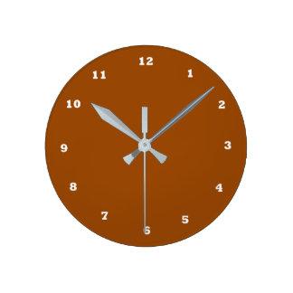 NOVINO Template diy change color add text unique Round Clock