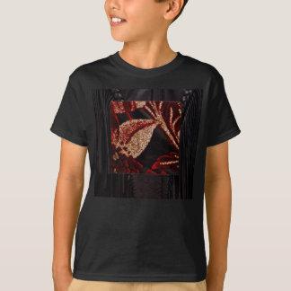NOVINO Zazzling Golden Leaf T-Shirt