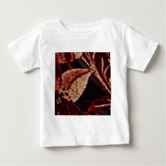 NOVINO Zazzling Golden Leaf Tee Shirt
