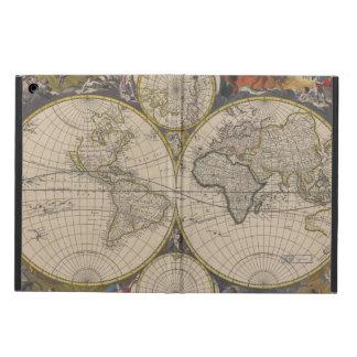 Novissima Totius Terrarum Orbis Tabula Map iPad Air Cases