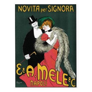 Novita per Signora by Leonetto Cappiello Postcard
