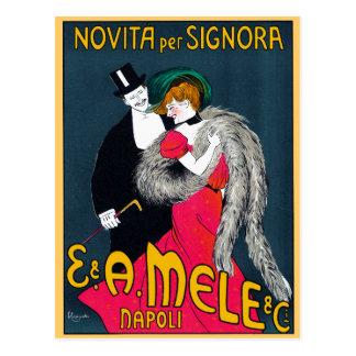 Novita per Signora, E. & A. Mele & Ci., 1903 Postcard