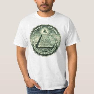 Novus Ordus Seclorum NWO Illuminati Seal T-Shirt