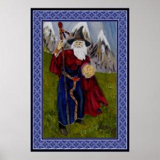 Novy's Wizard Poster