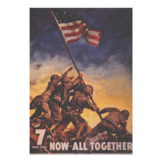 Now All Together-US Marines Poster
